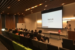 Educating highschool students from UCSD SWAG on scientific endeavors!